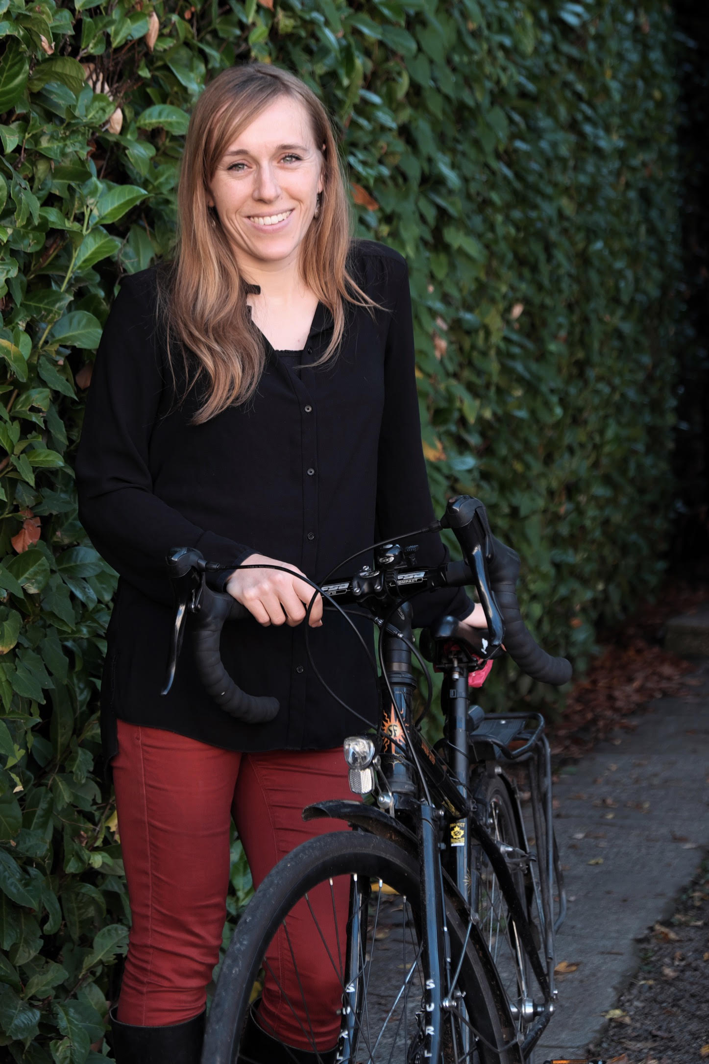 Annie Merritt HUB Cycling Board Member Photo